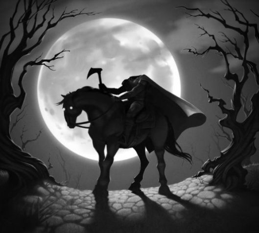 An Dullahan The Real Headless Horseman Sleepy Hollow Headless