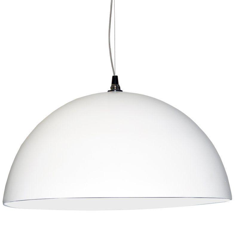 Ivy Bronx Becking 3 Light Dome Pendant Wayfair Pendant Light Dainolite Simple Lighting