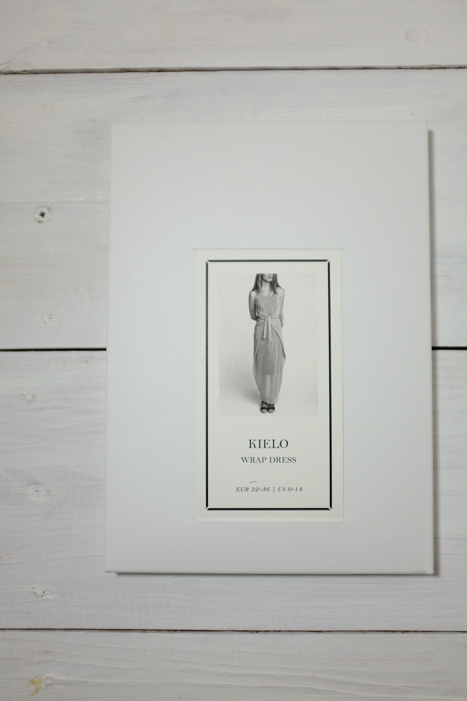 Kielo wrap maxi dress