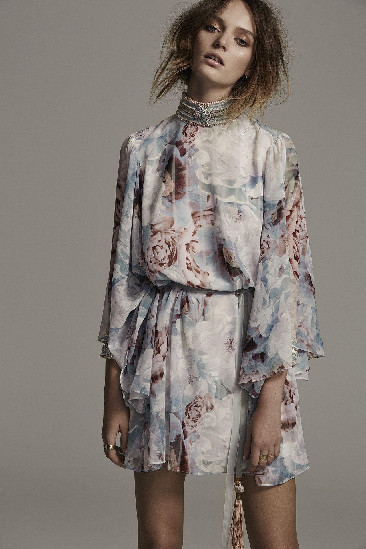 Marybeth Beaded Flutter Sleeve Mini Dress 76f0f4fe60
