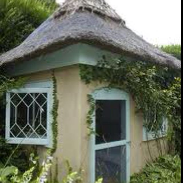 Hobbit House Shed: Outdoor Sheds, Outdoor Gardens, House Styles