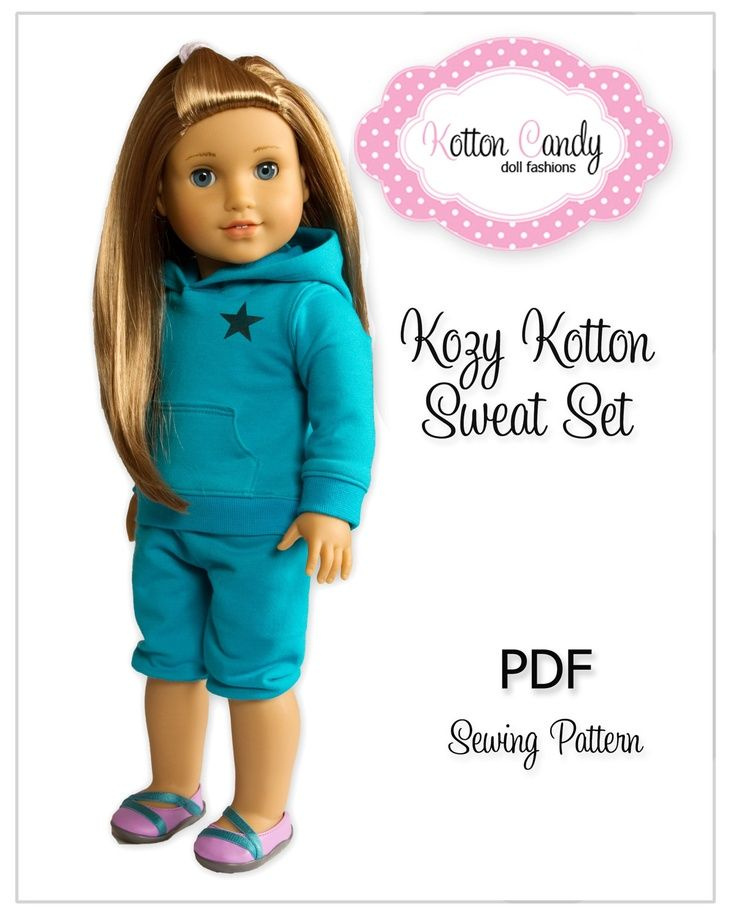 American Girl Doll Dress Patterns Free | PDF Sewing Pattern for 18 ...