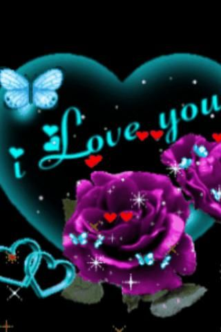 Purple Rose Blue Butterfly Liv Android Apps on Google