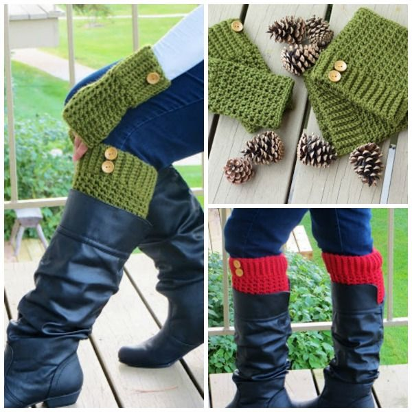 fake Boot Socks Pattern | Knit, Crochet, Repeat | Pinterest