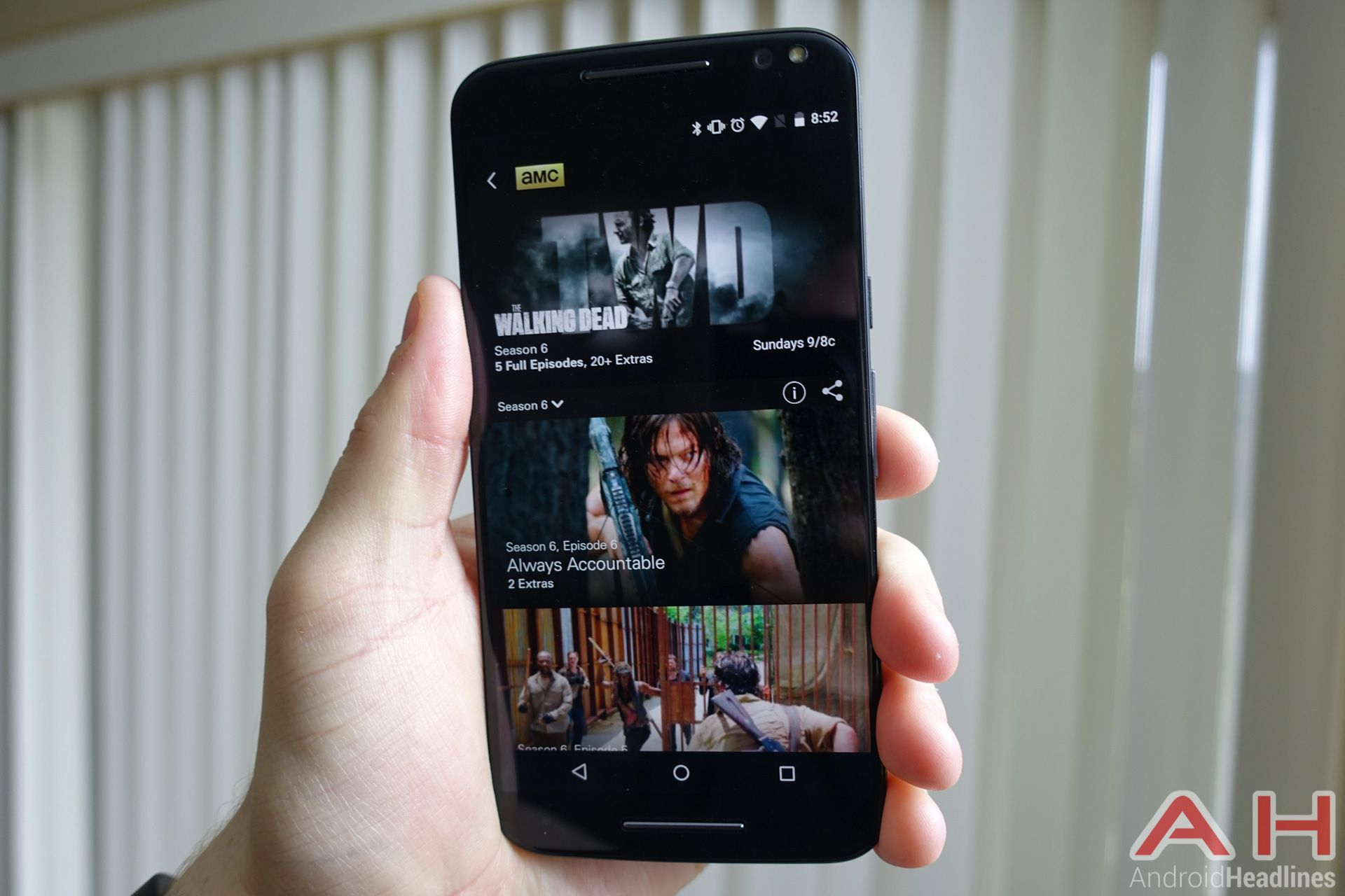 Keep up to date with The Walking Dead on the new AMC App