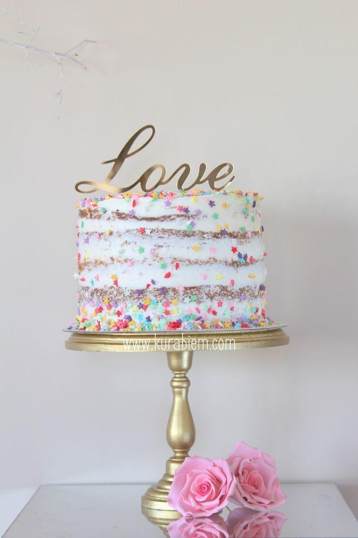 Geburtstagstorte, nackte Torte, Verlobungstorte, Liebestorte, Konfettitorte, Fun…