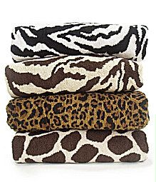 Dillards Bathroom Design Pinterest Shops Animals And Print - Zebra bath towels for small bathroom ideas