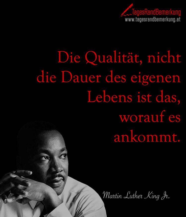 Martin Luther King Words Zitate Großartige