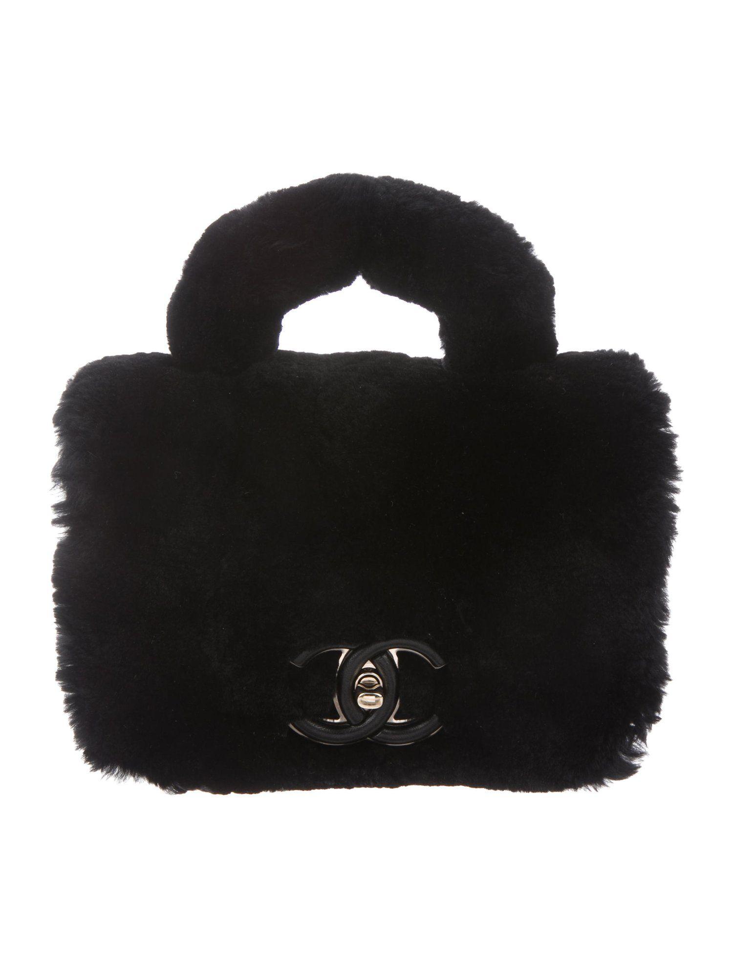 a0cf6106a162 Chanel 2017 Small Fur Flap Bag - Handbags - CHA277081