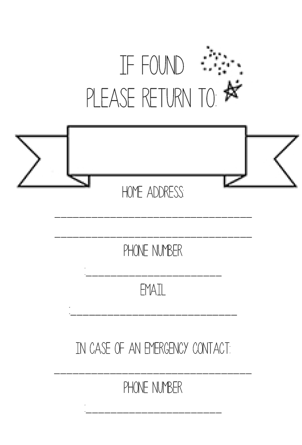 Planner Info Page Printable - Wendaful | Planner Obsession ...