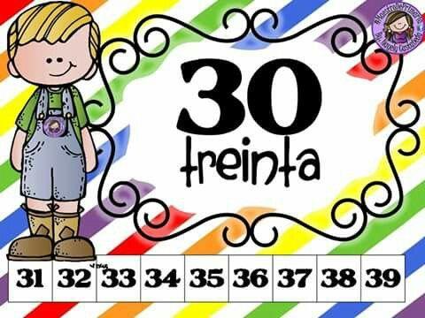 Resultado De Imagen De Familia De Numeros Del 30 Matemática 1ro