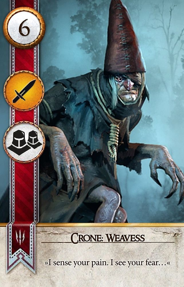 Crone: Weavess (Gwent Card) - The Witcher 3: Wild Hunt