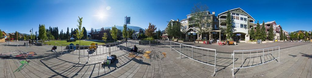 3d street painting in Whistler