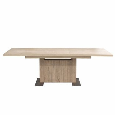 Diamond Sofa ICON Icon Extension Dining Table In Washed Natural - Diamond smart table for sale