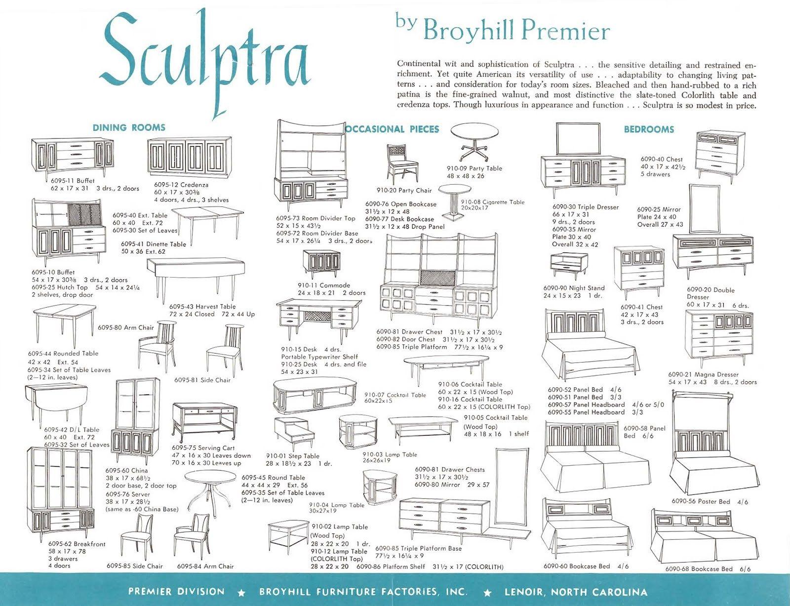 Best Broyhill Premier Sculptra Brochure The Room Divider 640 x 480