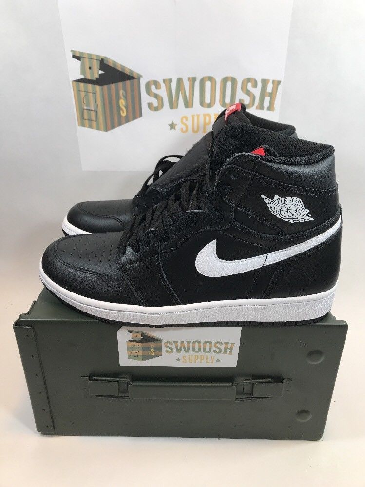 94e302c5f7ef Air Jordan 1 Retro High OG Ying Yang Black White 575441 011 Youth Size 7Y   Nike  sneakers