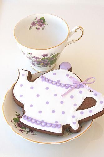 Tea Pot & Tea Cup Cookies