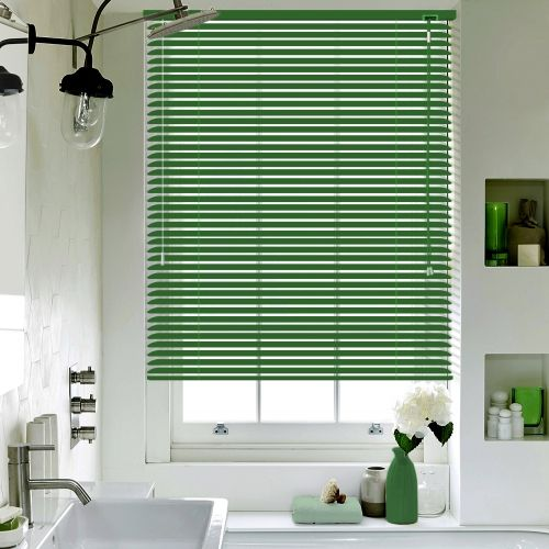 Green Matt Lifestyle Venetian Blinds Blinds Curtains With Blinds Blinds For Windows