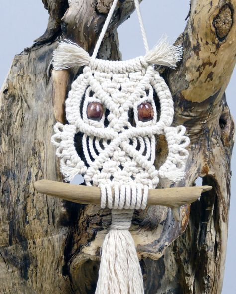 Macrame Owl Wall Hanging Tutorial For Beginners & Beyond