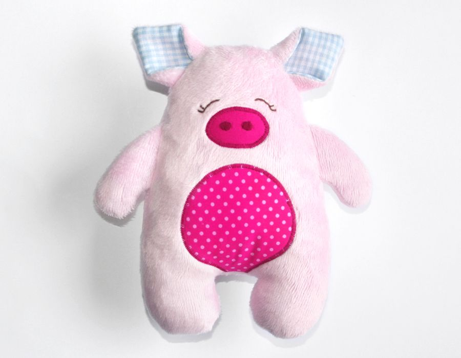 Anleitung Schwein nähen | Nähen Kuscheltiere | Pinterest | Baby ...