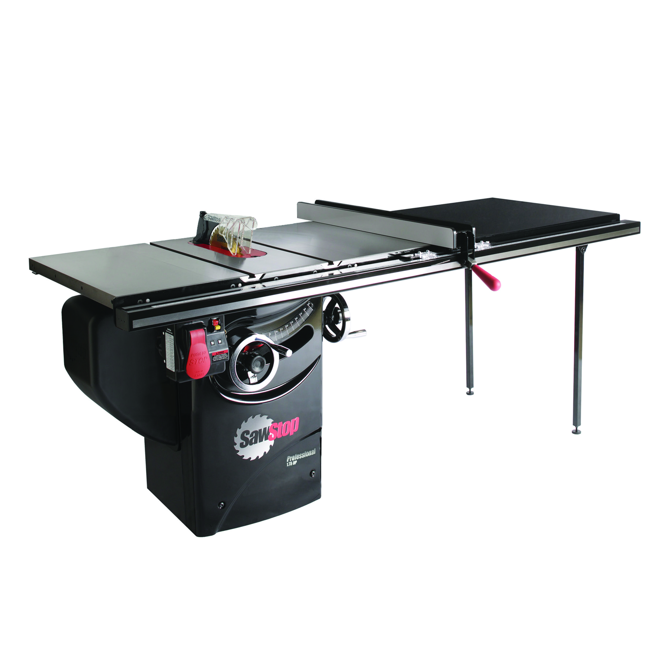 1 75 Hp Professional Cabinet Saw With 52 Professional T Glide Fence System Pcs175 Tgp252 Diy Sewing Table Table Saw Woodworking Shop