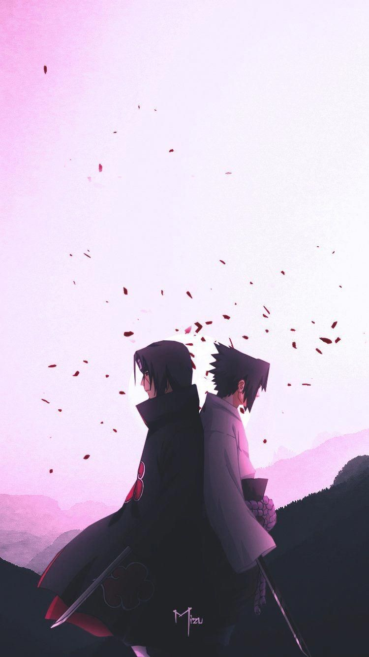 Itachi Uchiha and Sasuke Uchiha - Naruto Shippuden #PhotoshopHowToProducts #decembrefondecran