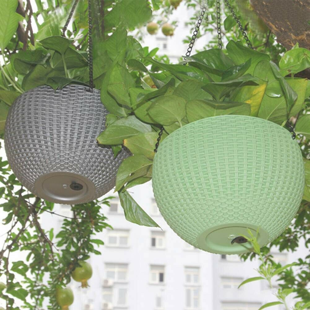 Hanging Plastic Flower Plant Planter Basket For Plant Pot