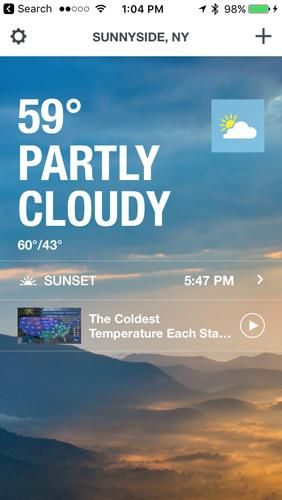 The 100 Best iPhone Apps for 2020 The weather channel