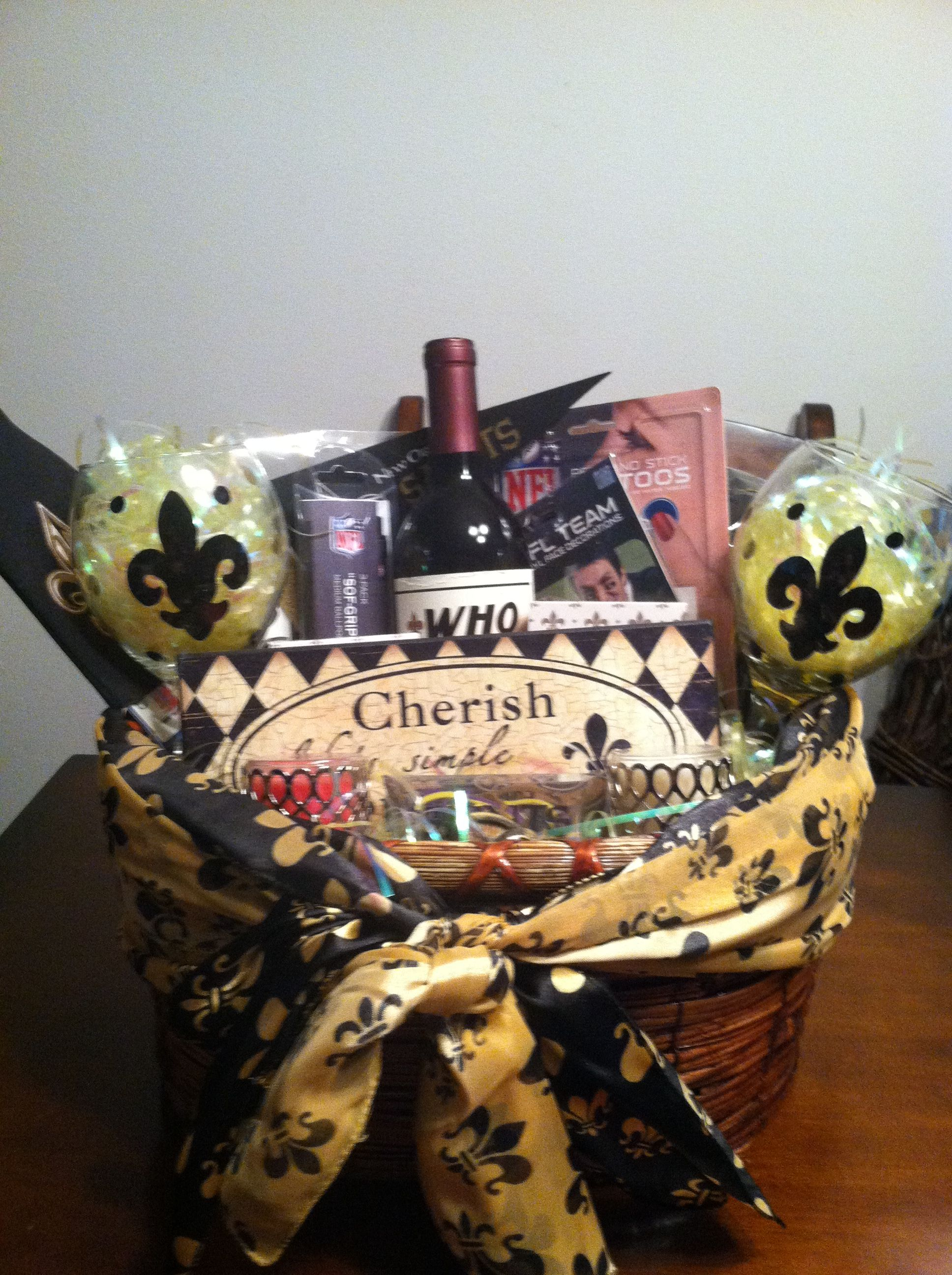 New Orleans Gift Basket | Gift Baskets | Pinterest | Gift, Auction ...