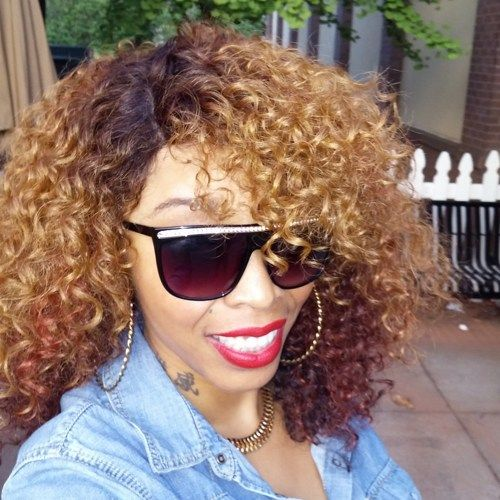 Beautiful Irene Curly Full Lace Front Wig 18-20 inches | BeautyTreasuresLaceWigs - Accessories on ArtFire