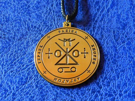 Seal Of Angel Raziel Pendant Seal Of Archangel Raziel Seal Of