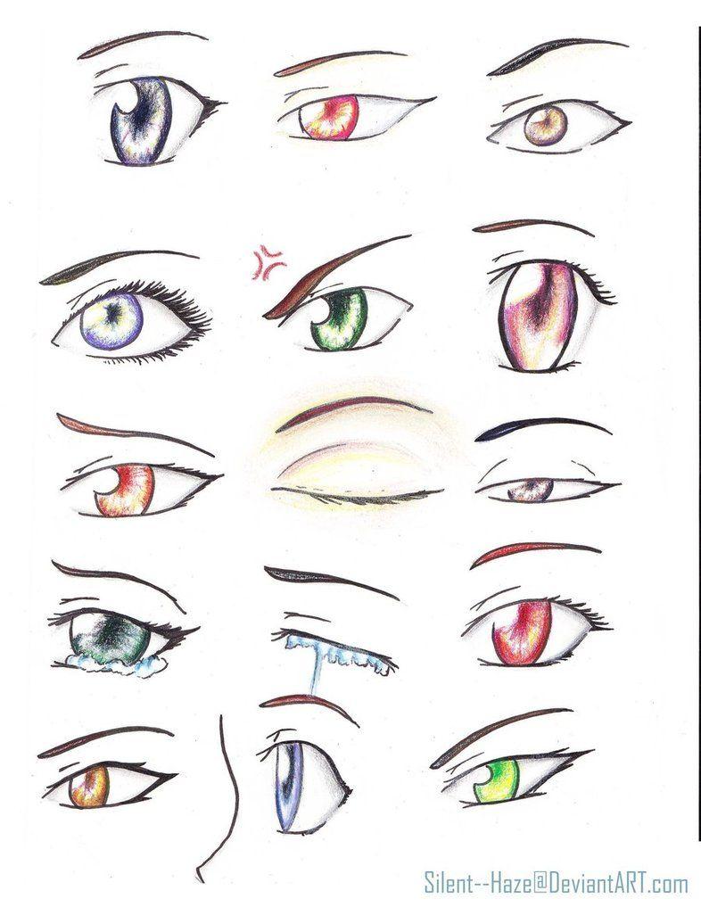 Anime Girl Eyes  Anime Eyes By Silenthaze