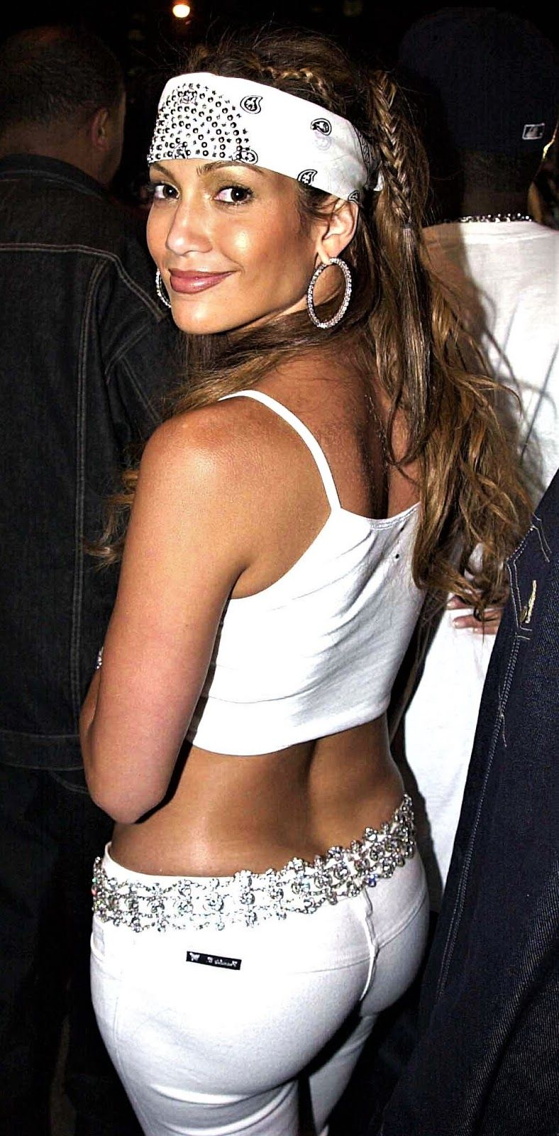 Jennifer Lopez Sexy Big Ass In White Pants Hd Babydollsparadise Com