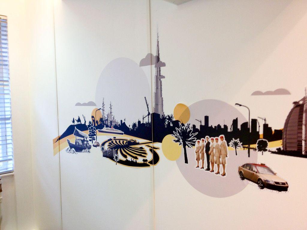 Best Digital Wall Covering Images On Pinterest Custom Wall - Custom vinyl decal stickers uk