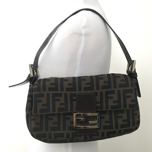 161ed5265561 ... aliexpress authentic vintage fendi zucca micro baguette bag this is an  authentic fendi zucca monogram micro