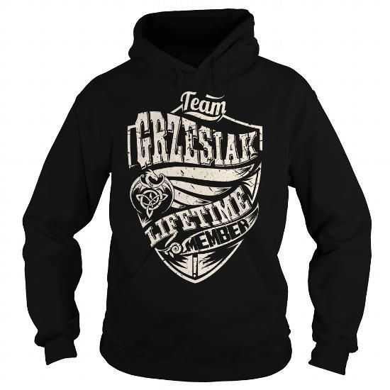 Team GRZESIAK Lifetime Member (Dragon) - Last Name, Surname T-Shirt - #awesome tee #tshirt crafts. Team GRZESIAK Lifetime Member (Dragon) - Last Name, Surname T-Shirt, tshirt projects,gray sweater. GET YOURS =>...