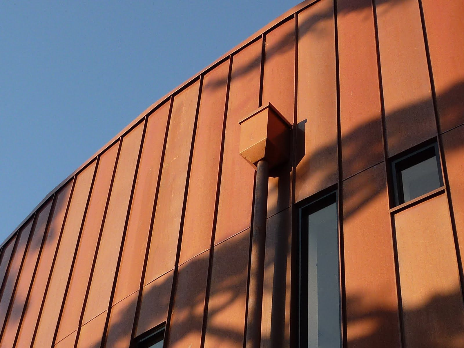 Best Hm Metalcraft Architectural Metal Roof And Facade Cladding Copper Standing Seam Wall Cladding 640 x 480