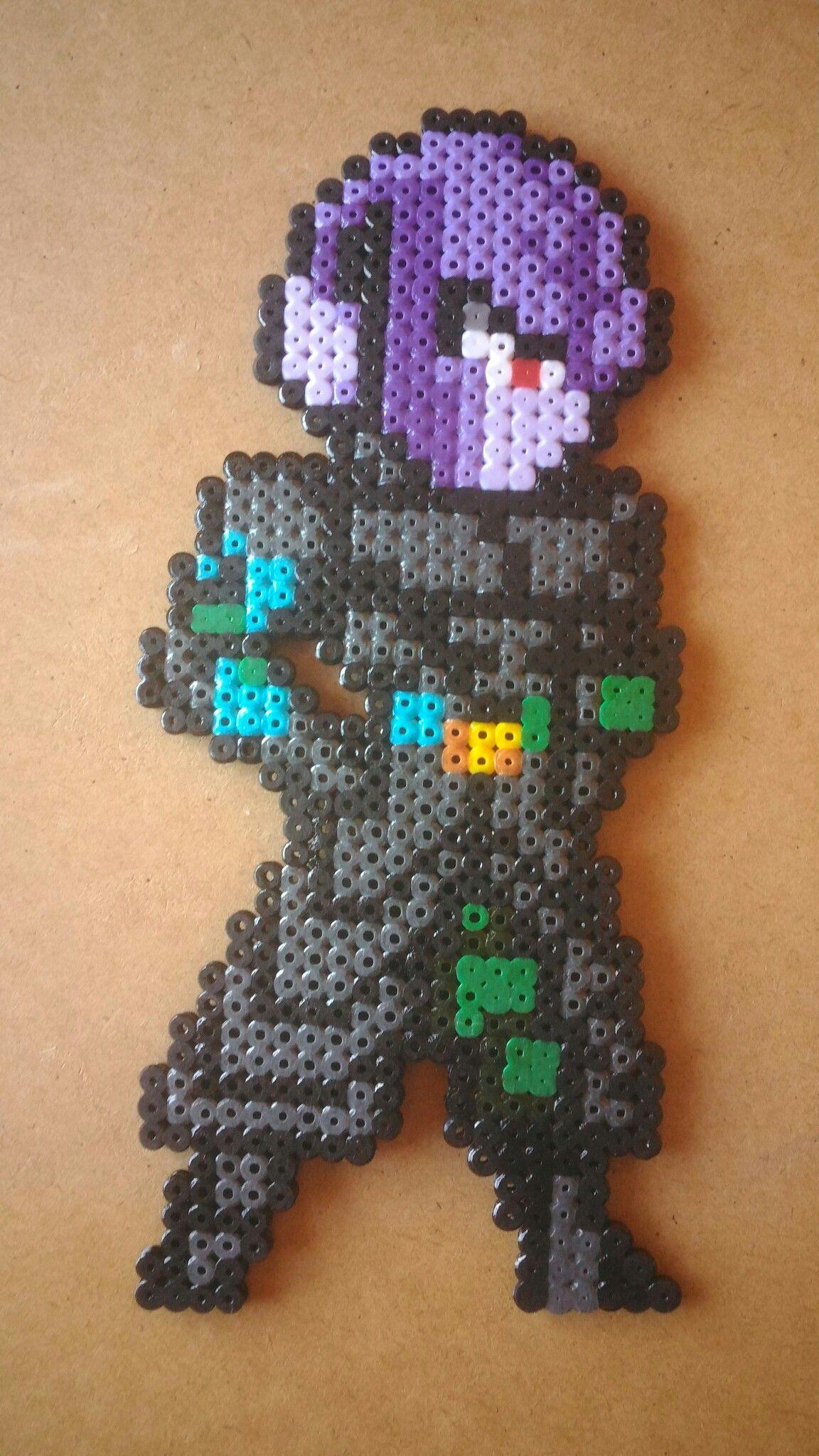 Hit Dragon Ball Perler Beads Pixel Art Pattern Dragon Ball