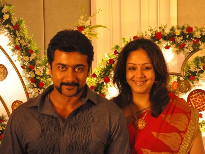 Suriya-Jyothika (© Filmysouth)   Celebrity couples, Famous ...