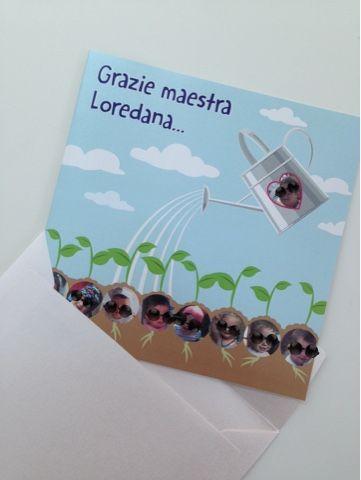 Marta Paper Design Un Grazie Speciale Alla Maestra Un Po In