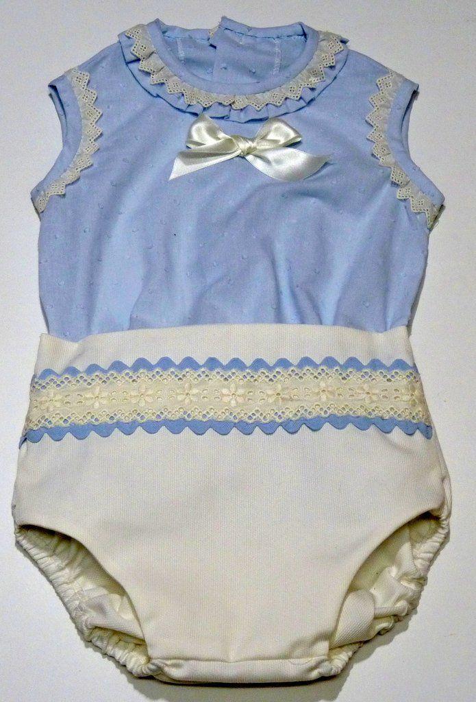 d1549c20d Conjunto de camisa plumeti celeste y braguita para bebe | ŧơɖơ קąřą ...