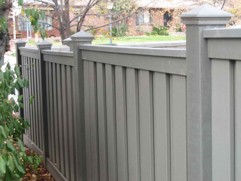 Grey Stained Fences Google Search Landscaping Plants