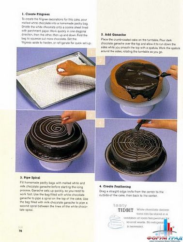 Украшение шоколадом. - Страница 2 - Научите украшать торты шоколадом – и восторги форумчан станут вам наградой - Форум-Град