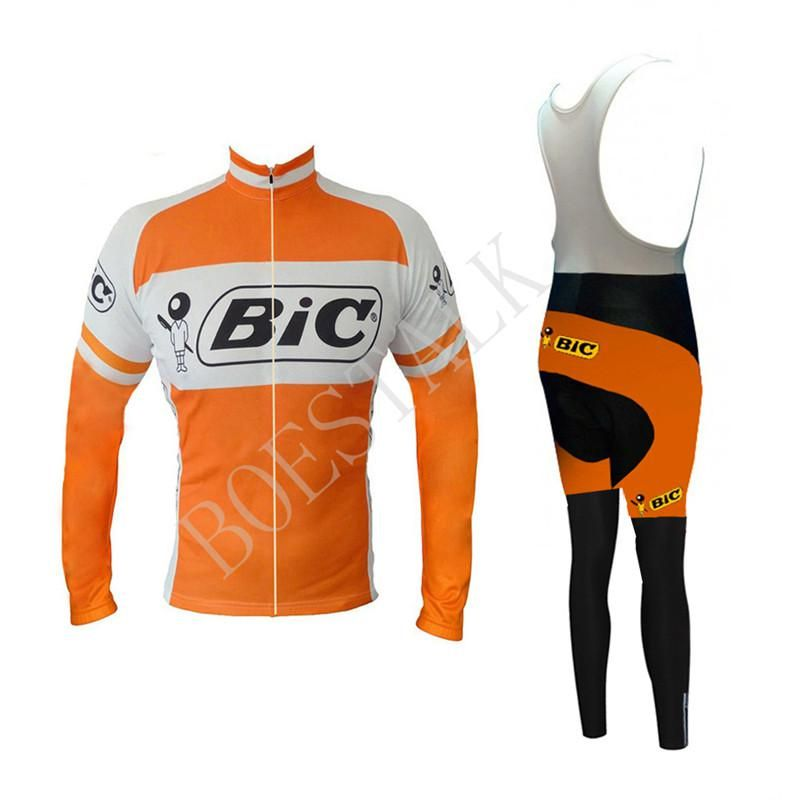 2018 bic Team Pro Winter Hot Wool Cycling Jersey Ropa Ciclismo Bike - US   38.99 9e9f65aa9