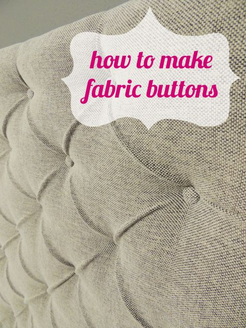 Loosen Up My Buttons, Babe | DIY | Diy tufted headboard, DIY Furniture, DIY Home Decor