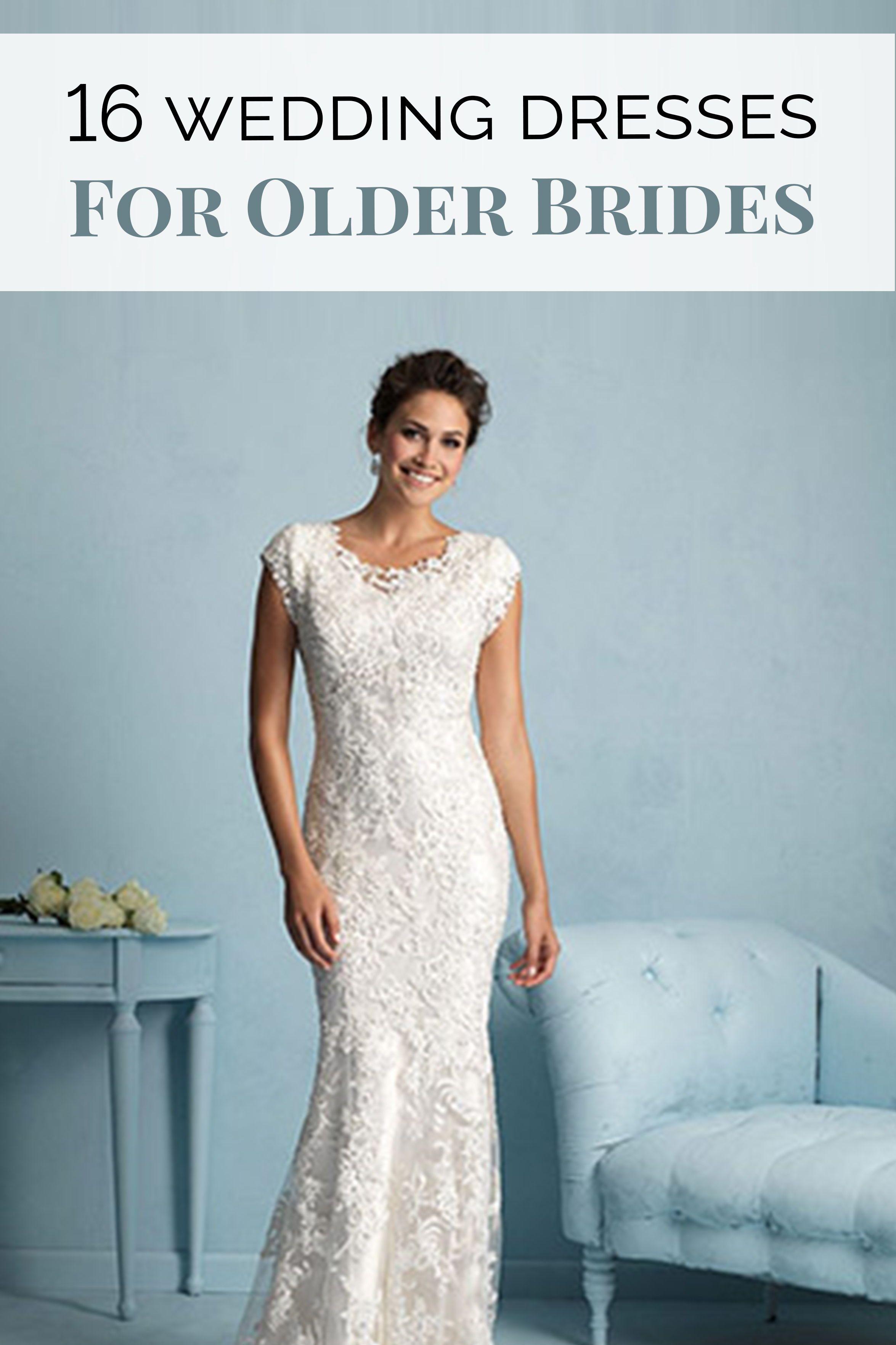 Conservative wedding dresses   Wedding Dresses for Older Brides  Pinterest  Conservative