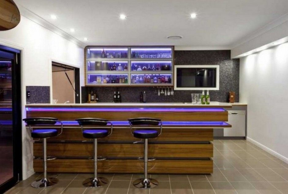Modern Minimalist Design Of The Modern Home Bar Designs That Has ...