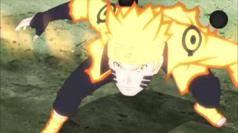 Image Result For Naruto S Six Paths Sage Mode With Images