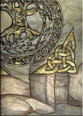 Celtic Celtique Celte Motif Marocain