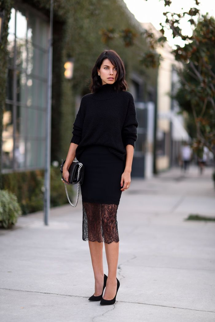 9 Ways To Style Your Little Black Dress | Fashion, Black